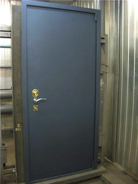 Объект испытаний - дверь К-10М
