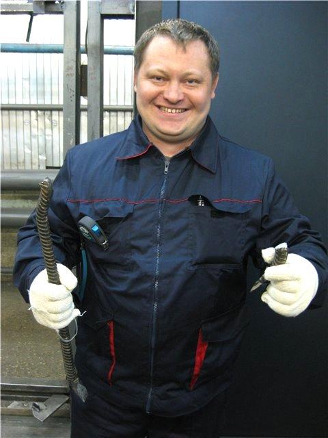 Виталий Рябинин, инженер ОТК завода.