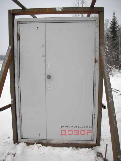 Объект испытаний - дверь